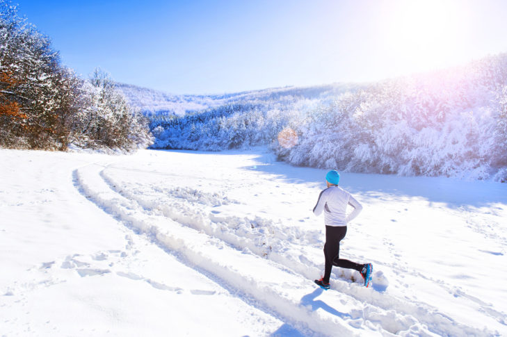 Ausdauertraining ergänzt die Skigymnastik optimal.