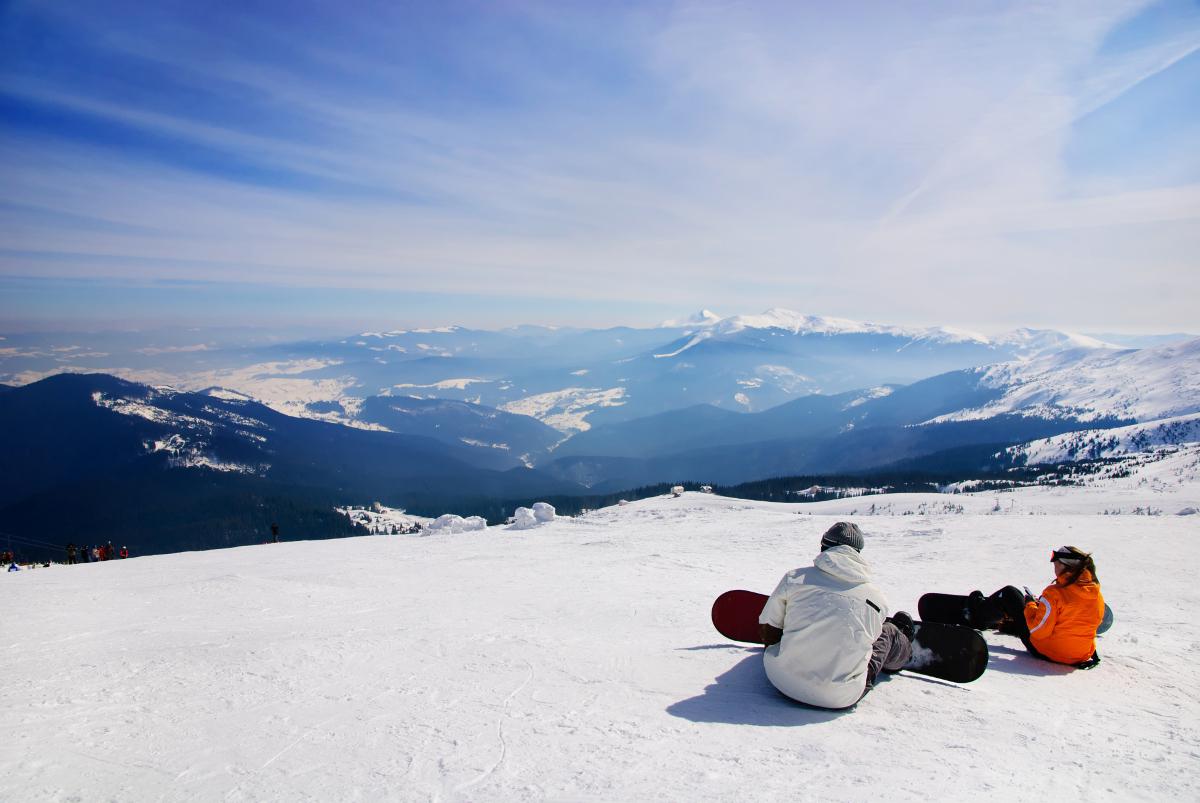Flirten skiurlaub
