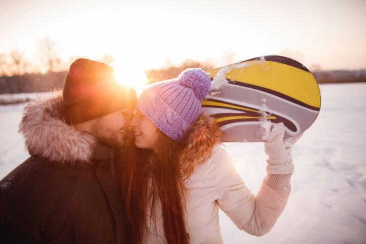 Flirten in den Bergen: Einfach romantisch.