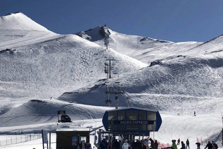 Andes Express im größten chilenischen Skigebiet, dem Valle Nevado.