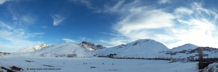 Auch in Marokko kann man Ski fahren!