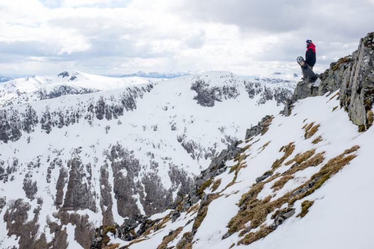Das Skigebiet Glencoe bietet weite Blick über das schottische Hochland.