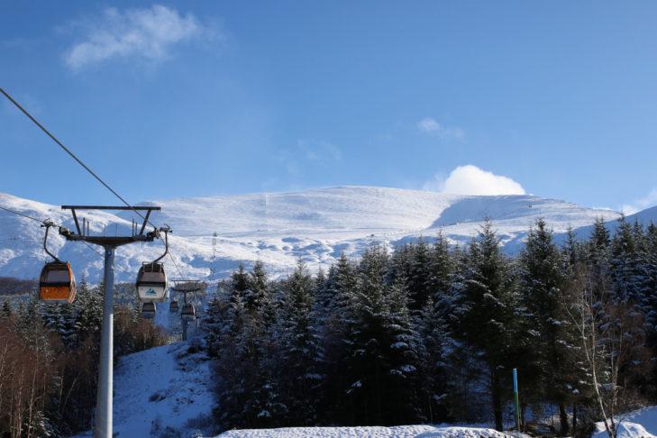 Skifahren in Schottland - ein Traum.
