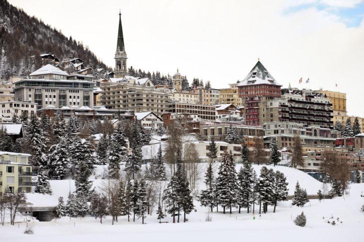 St. Moritz ist wohl der beliebteste Winterferienort für Promis.