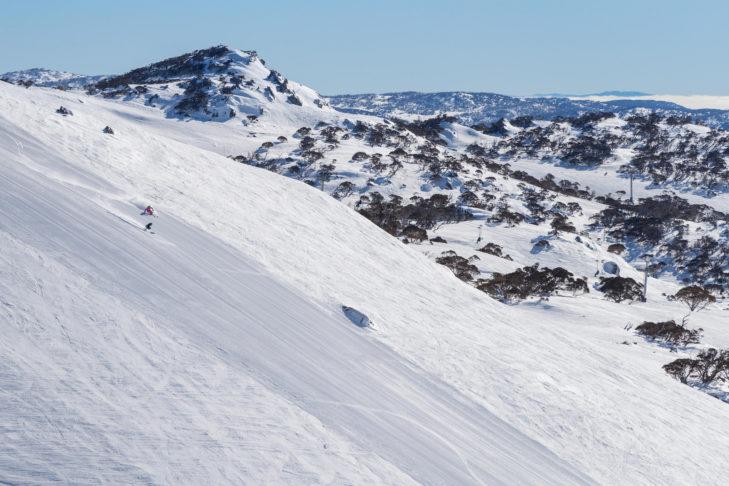 Mal was anderes: Skifahren in Australien.