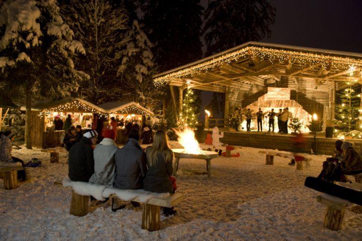 Weihnachtsmarkt in Mayrhofen.