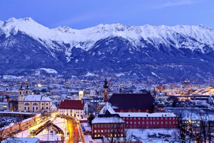 Traumkulisse in Innsbruck.