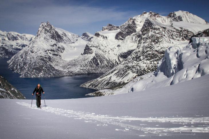 Tolle Kombi: Seen und Berge in Grönland.