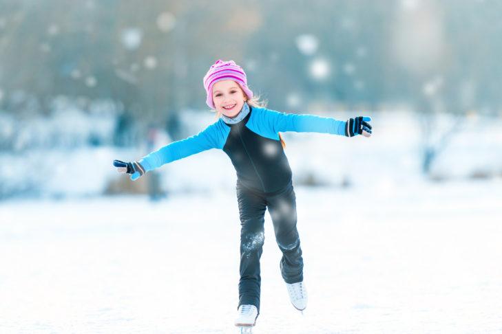Eislaufen bereitet Klein und Groß jede Menge Spaß.