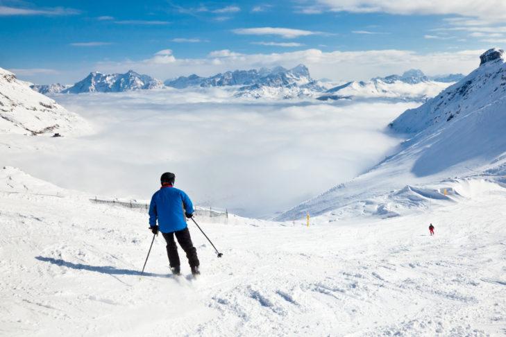 Die Sellaronda ist der Klassiker unter den Skirunden.