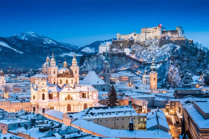 Salzburg ist ebenfalls immer eine Reise wert.