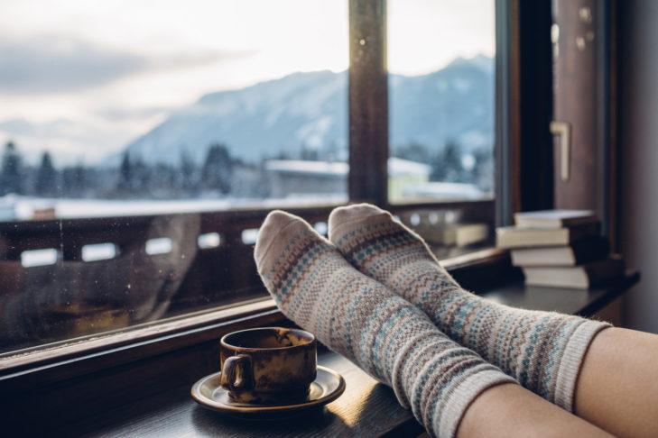 Ein gutes Buch liest sich am besten gemütlich zur Winterzeit.