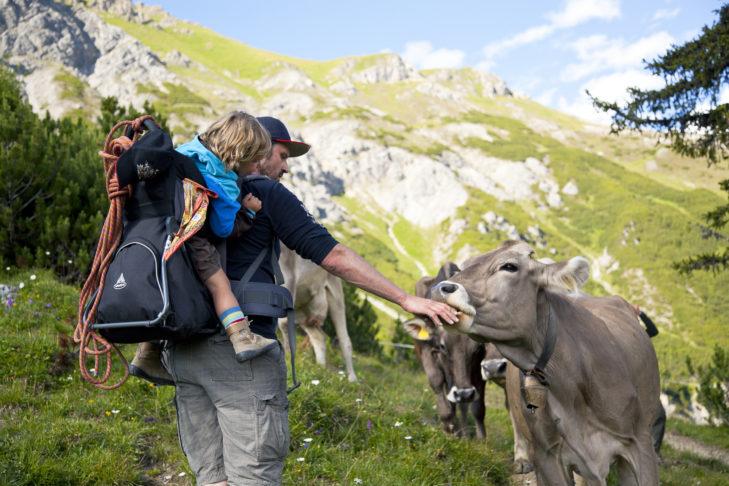 Aktivurlaub in St. Anton: Der Natur ganz nah.