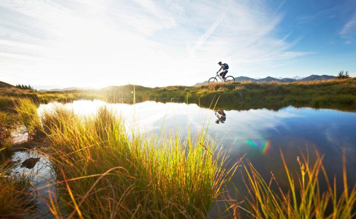 Das Angebot für Radfahrer ist in Salzburg groß.