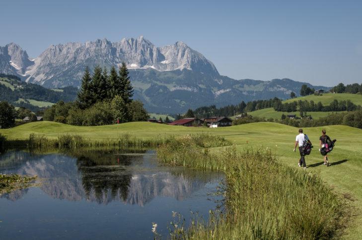 Kitzbühel ist das Golfparadies im Herzen der Tiroler Alpen.