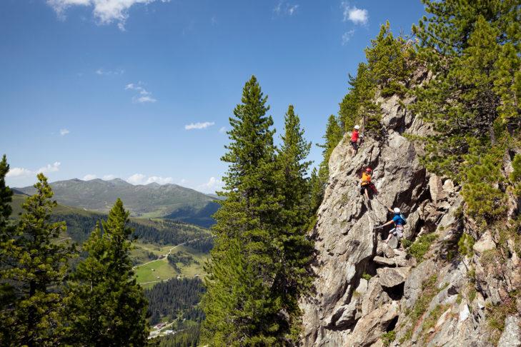 Im Zillertal gibt es Klettersteige für jeden Schwierigkeitsgrad.
