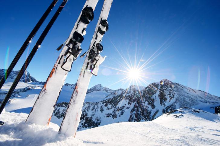 Sommer heißt nicht, dass man aufs Skifahren verzichten muss.