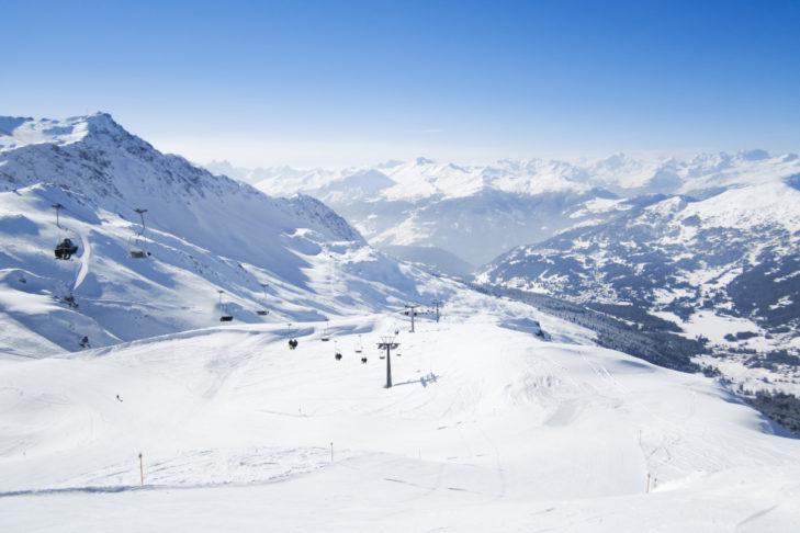 Endlose Blicke im Skiverbund Arosa-Lenzerheide.