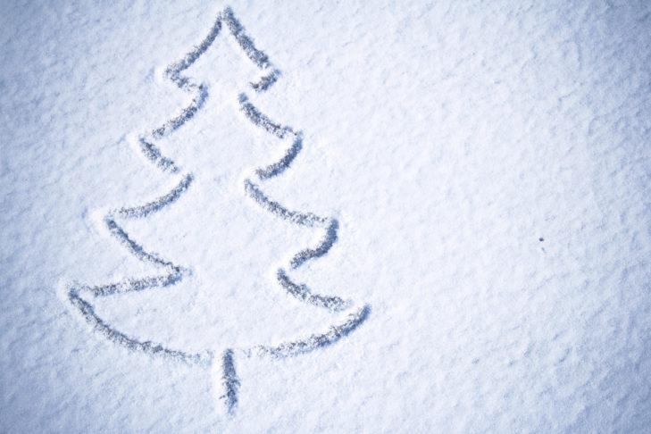 Weihnachten im Schnee - in den Alpen garantiert!