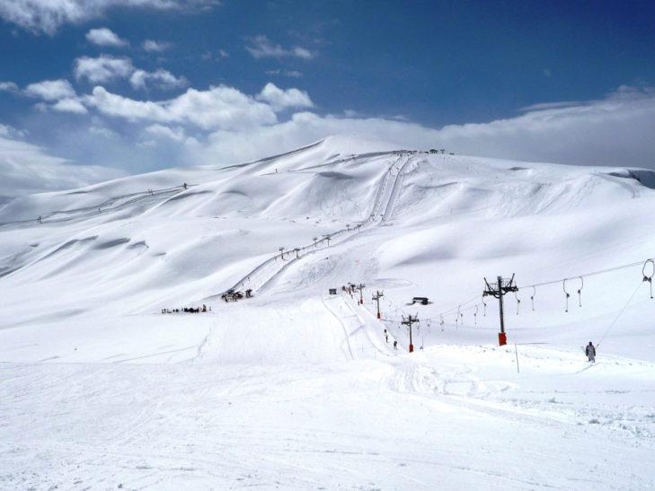 Skifahren in Frankreich: Breite Familienpisten in Saint Sorlin.