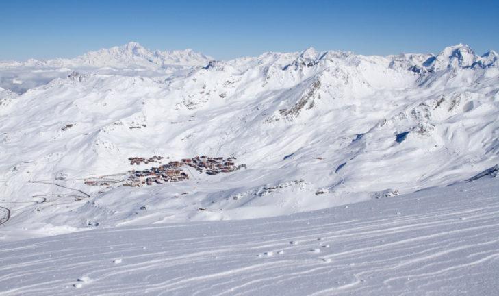 Unterkunft direkt im Skigebiet: Standard in Val Thorens.