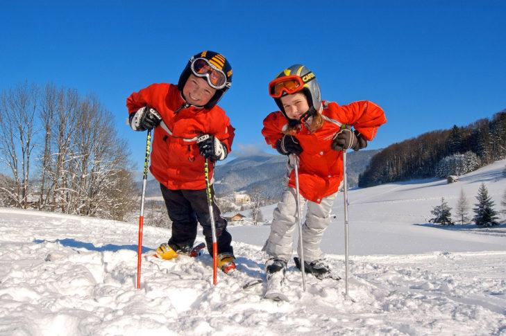 Skikinder in Ruhpolding (c) Ruhpolding Tourismus GmbH