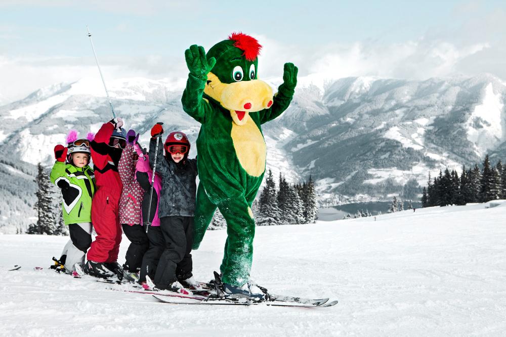 Die Lustigsten Maskottchen Im Skigebiet