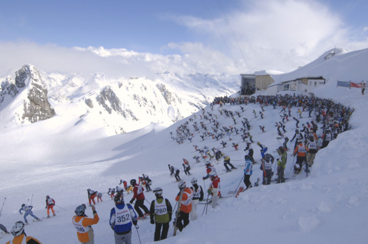 Der weiße Rausch (c) TVB St. Anton am Arlberg - Josef Mallaun