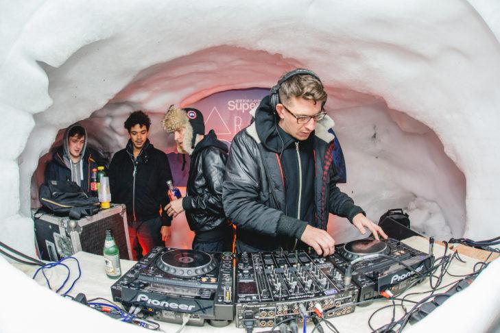 DJs beim Snowbombing in Mayrhofen.