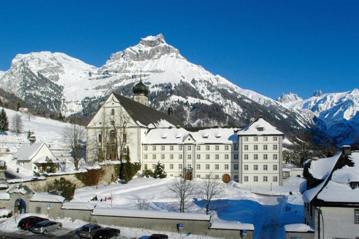 Das Kloster Engelberg.