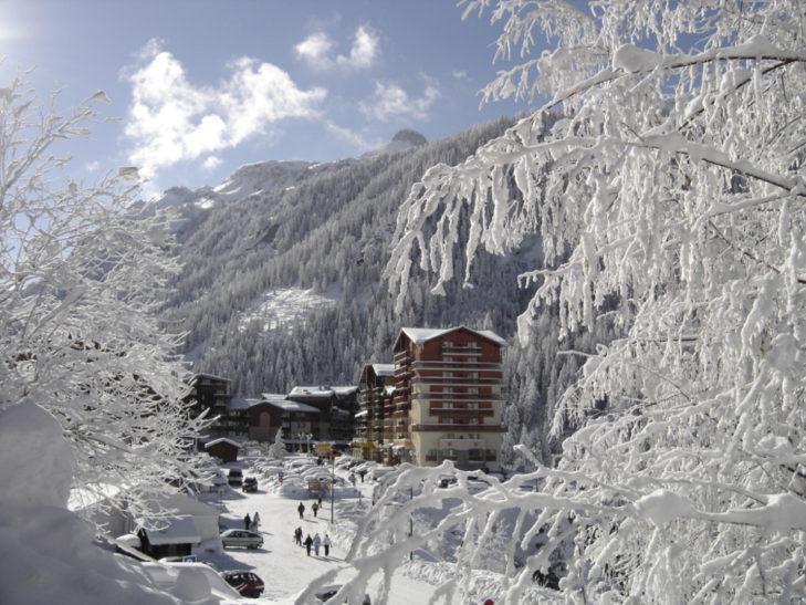 Valfréjus ist mit viel Schnee gesegnet.