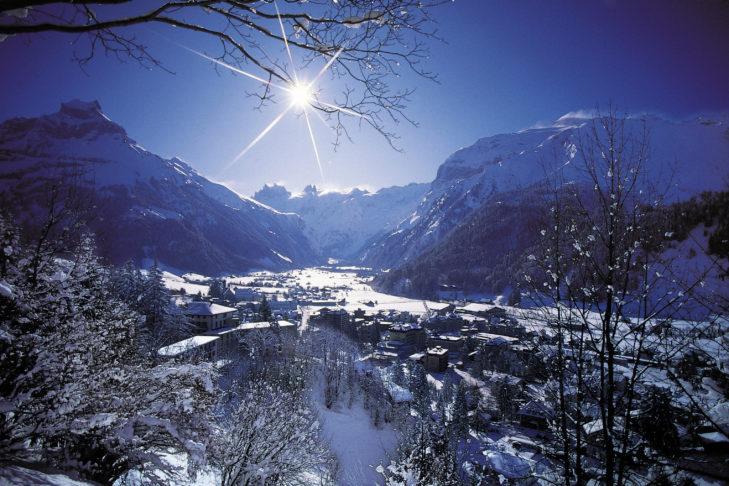 Traum in glitzerndem Weiß: Engelberg in der Schweiz.