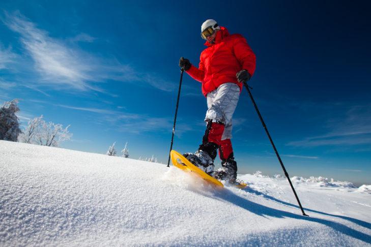 Schneeschuhwandern gilt als besonders naturnaher Sport.