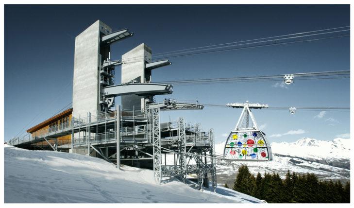 Vanoise Express in La Plagne © Compagnie des Alpes