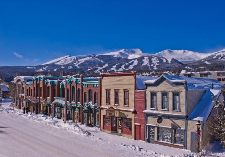 Die Western-Stadt Breckenridge. © Vail Resorts Inc.