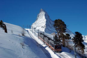 Gornergrat-Bahn in Zermatt © GGB - Kurt Müller
