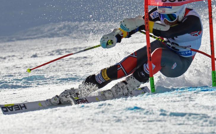 Beim Weltcup geben die Profi-Skiläufer ihr Bestes.