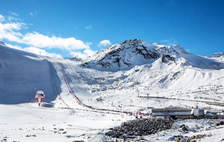 Weltcup-Auftakt Strecke Panorama © Ötztal Tourismus