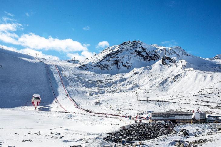 Im Ötztal in Sölden findet der Weltcup-Auftakt statt.