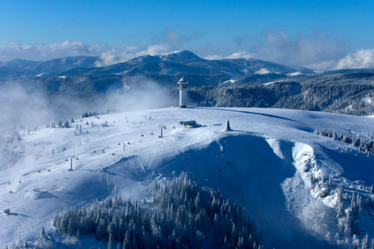 Traumhaft und so nah: Das Skigebiet Liftverbund Feldberg.