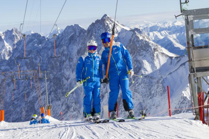 Die Skilehrer des DSLV geben hilfreiche Fitness-Tipps für Wintersportler.
