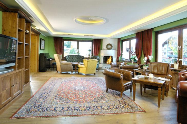 Kaprun Hotel Vier Jahreszeiten Kaminzimmer