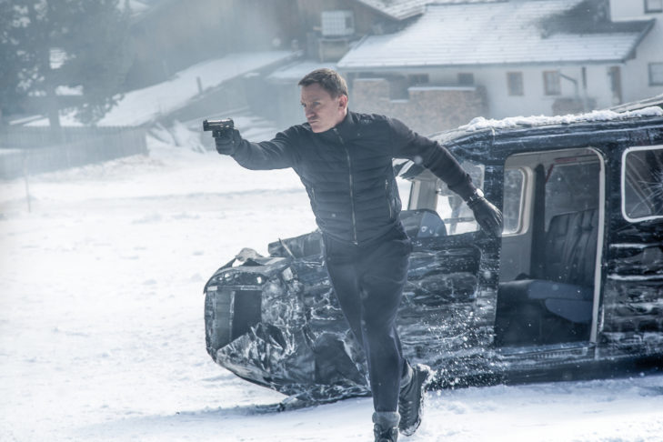 Tirol Werbung Daniel Craig in Obertilliach © Sony Pictures Releasing GmbH