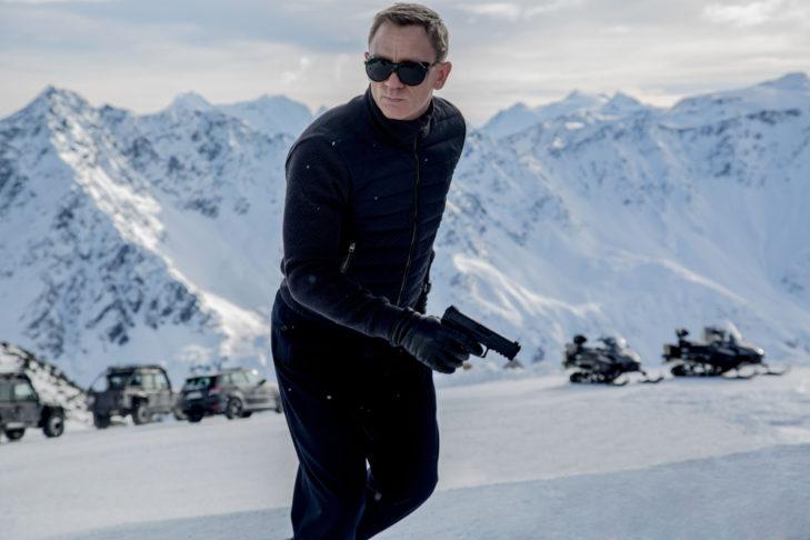 Natürlich gibt es auch Ski-Action-Szenen in einigen 007-Klassikern.