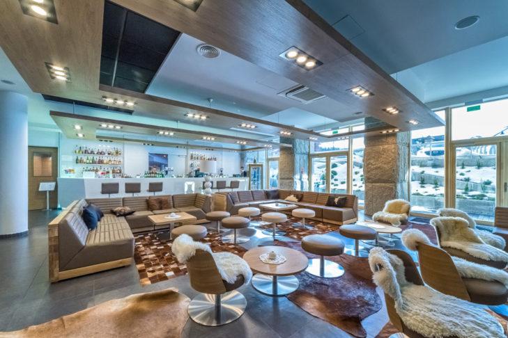Die Bar in der Luxus-Residenz in Zakopane.