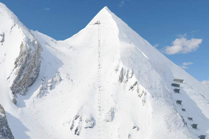 """Ein Teil der Tauernrunde ist die steile Buckelpiste """"G2""""."""