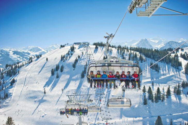 Scheffau Skigebiet © SkiWelt Wilder Kaiser - Brixental