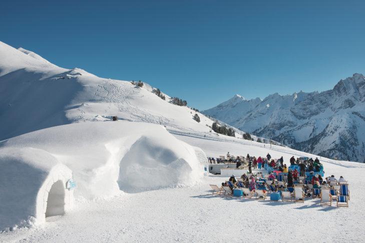"Buchstabe ""I"" aus dem Skilexikon: Iglu."