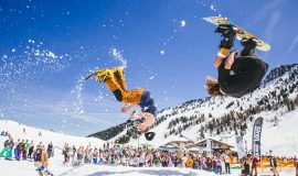 Ride and Seek Snowbombing 2015 © Andrew Whitton