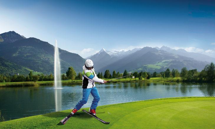 Zell am See Kaprun Ski&Golf © Zell am See-Kaprun Tourismus GmbH - Albin Niederstrasser